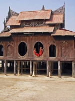 Inle See, das Shwe-Yaungwhe-Kyaung-Kloster