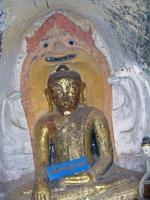 Hpo Win Daung Höhle, Statuen