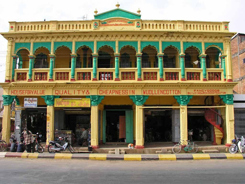 Pyin U Lwin, altes Kolonialhaus