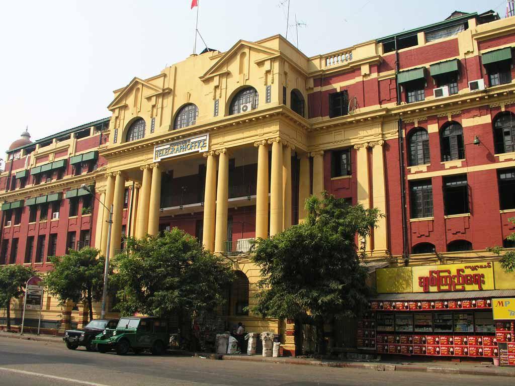 Yangon, Telegrafenamt