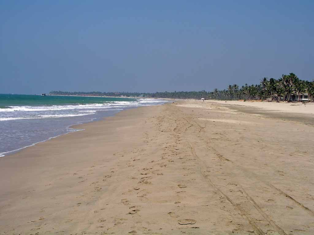 Ngwe Saung, am Strand