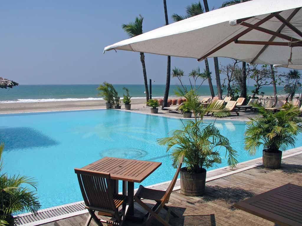Ngwe Saung, im Palm Beach Resort Hotel