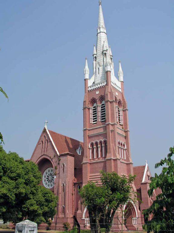 Yangon, Kathedrale der Heiligen Dreieinigkeit
