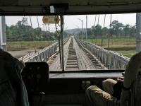 Monywa, Brücke über den Chindwinn Fluss