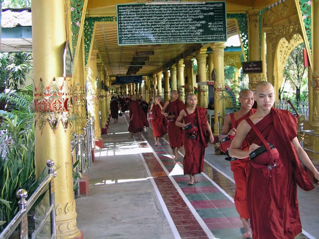 Bago, Kha Khat Wain Kyaung Kloster