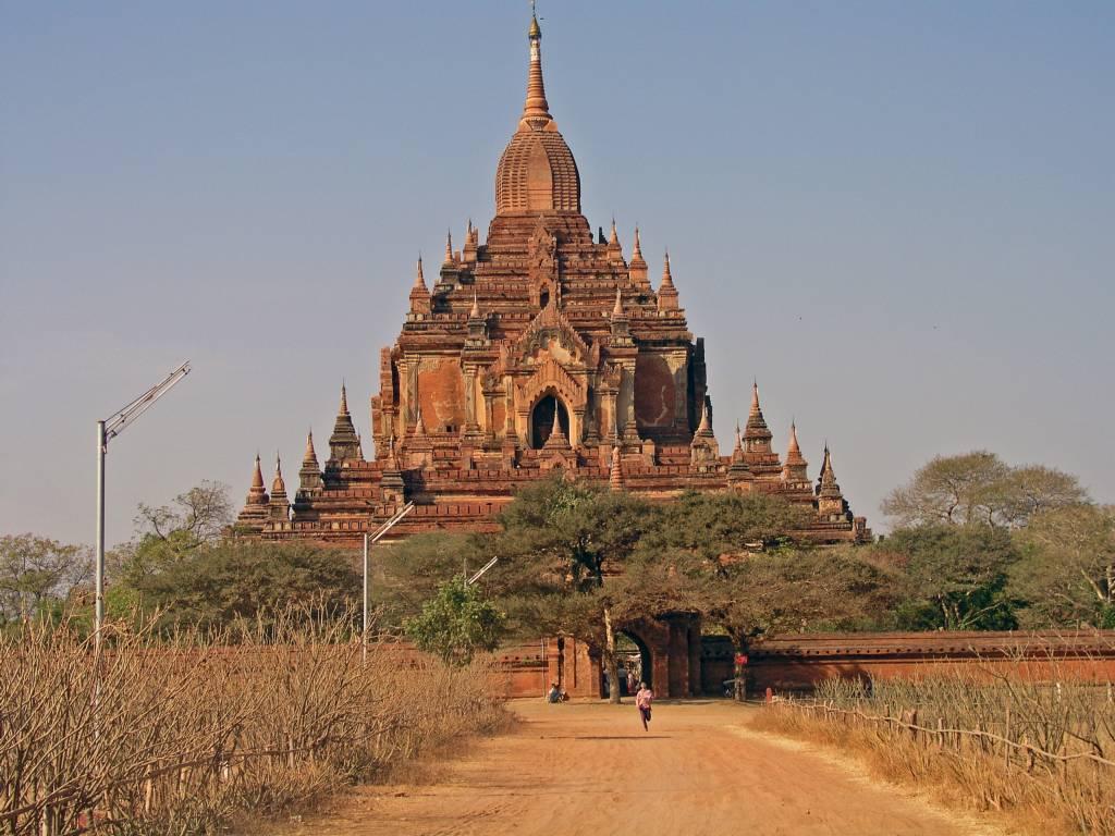 Nyaung U, Bagan, Hti-lo-min-lo Tempel