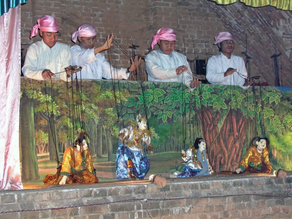 Nyaung U, Bagan, Marionettentheater