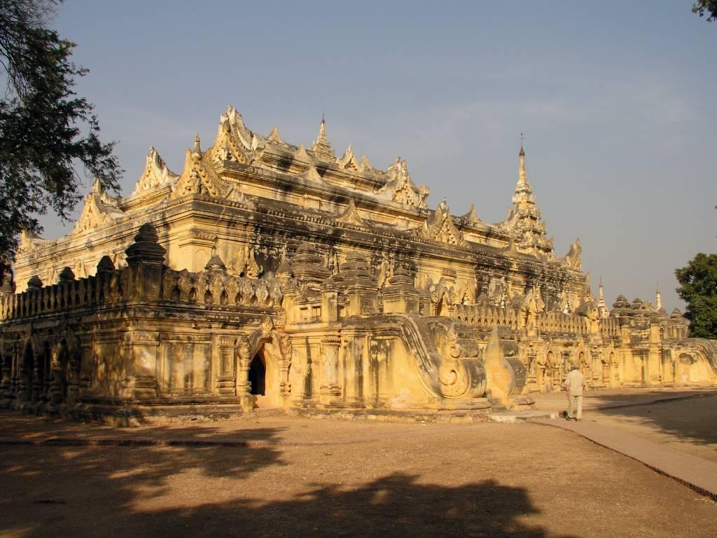 Inwa, Thabyedan, Maha-Aung-Mye-Bonzan-Kloster