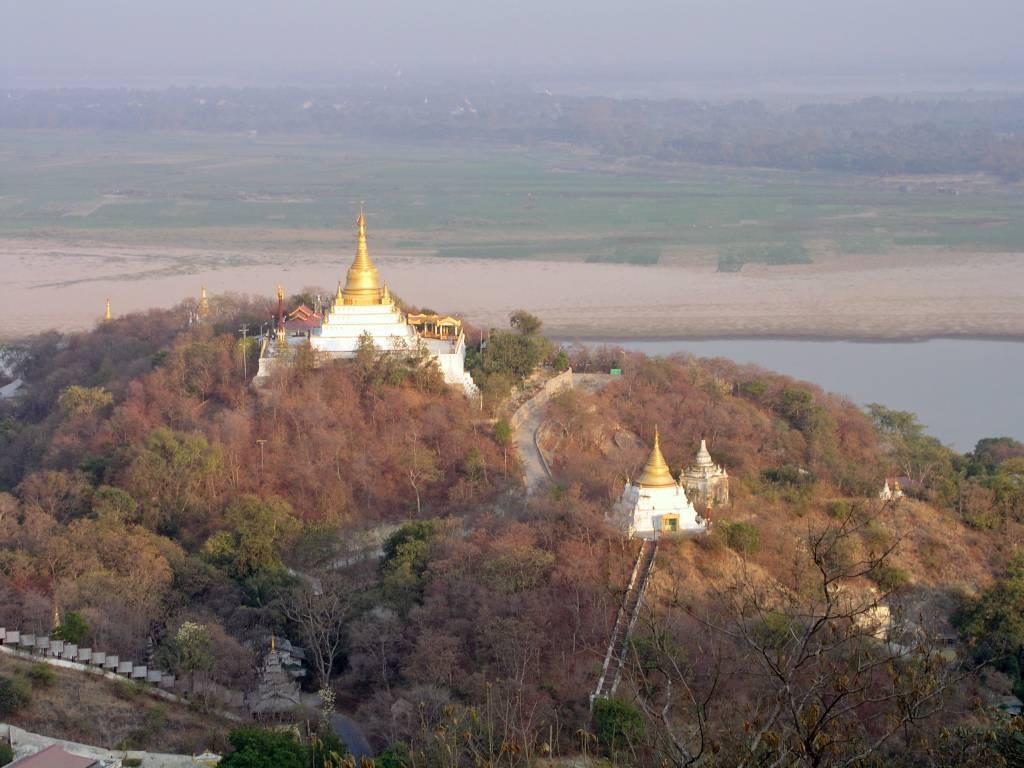 Sagaing, Aussicht