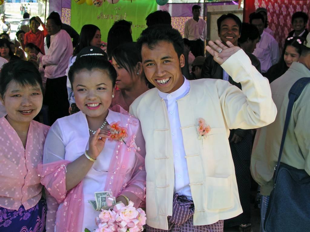 Aungpan, Hochzeitspaar