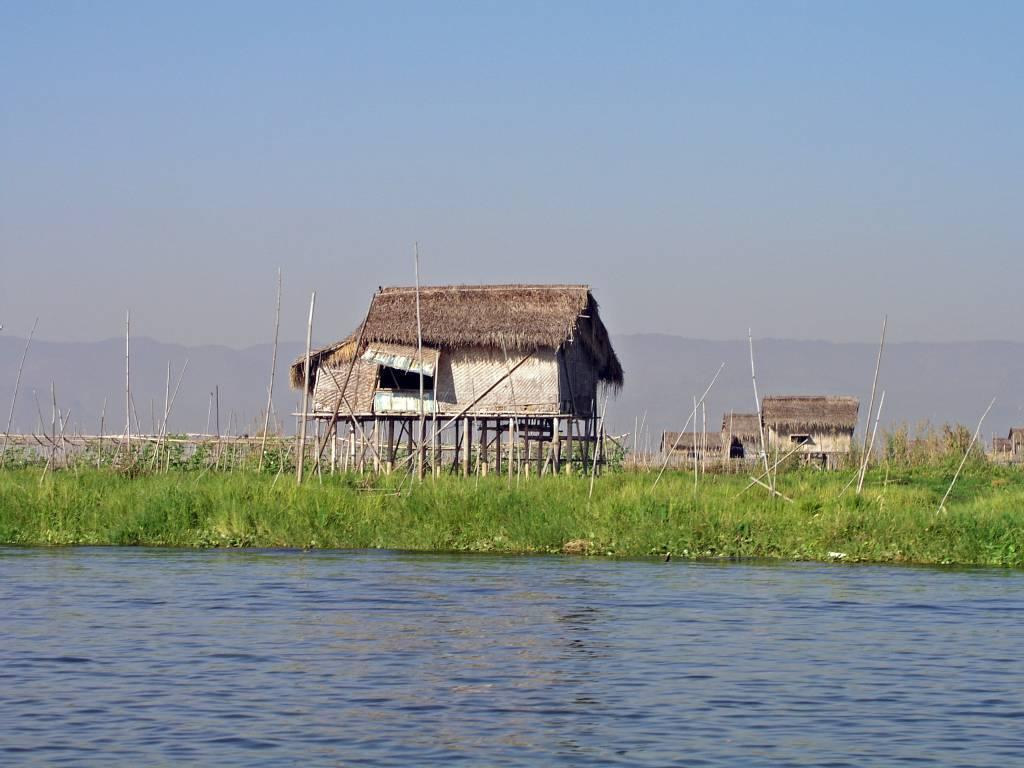Taunggyi, Inle See, Häuser