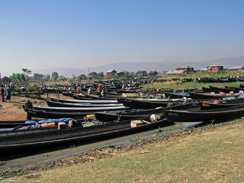 Taunggyi, Inle See, Markttag