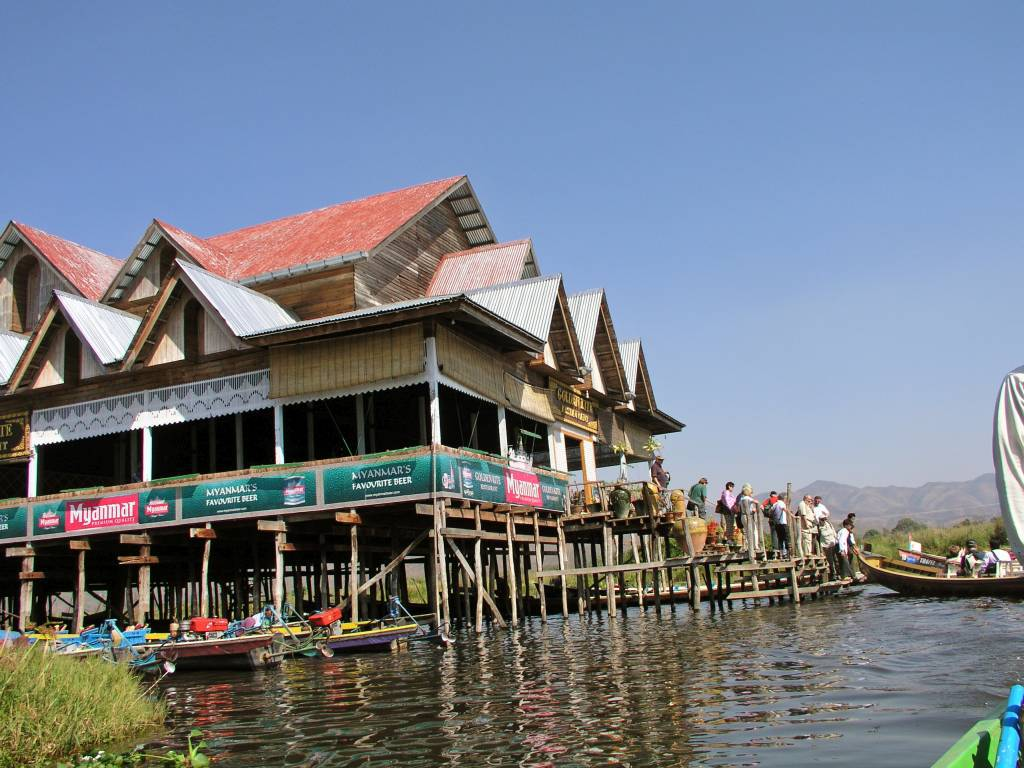 Taunggyi, Inle See, Golden Kite Restaurant
