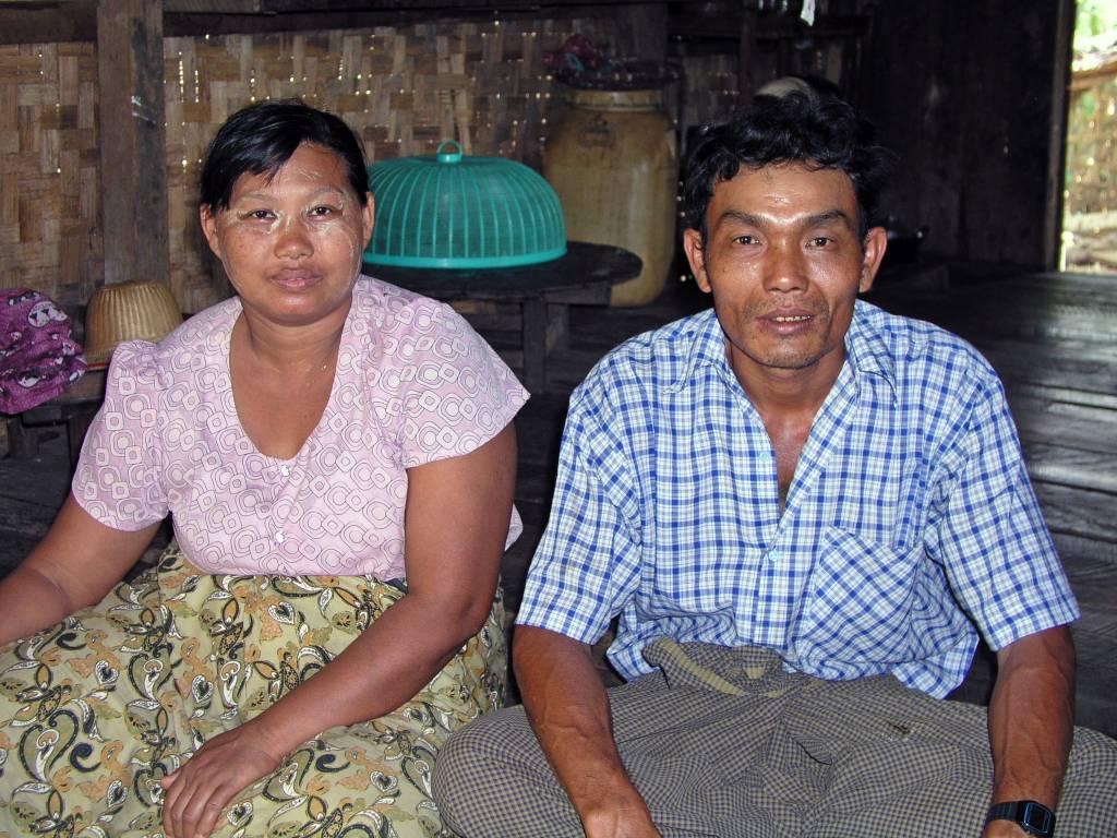 """Ngwe Saung, bei """"unserem"""" Rikschafahrer zuhause"""