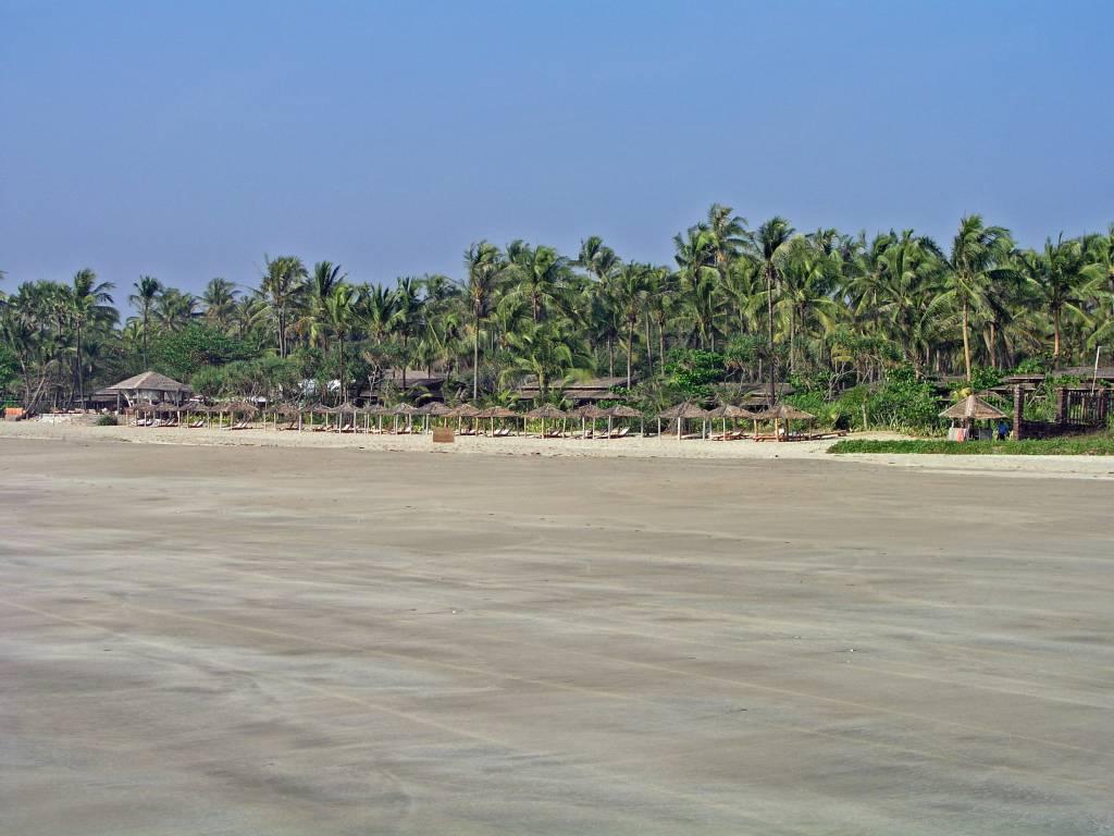 Ngwe Saung, Palm Beach Resort, Strand