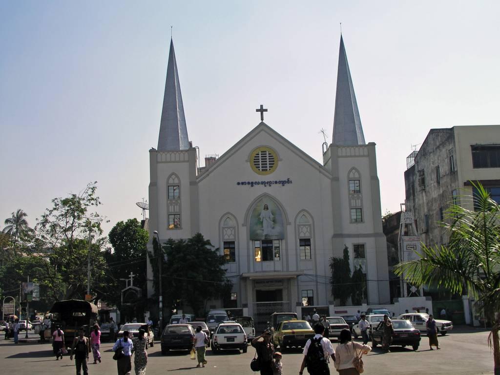 Yangon, Sankt Immanual Baptisten Kirche