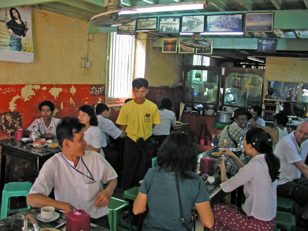 Yangon, Imbiss