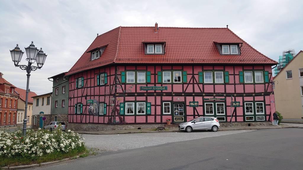 Harzgerode, Pension Wolfshof