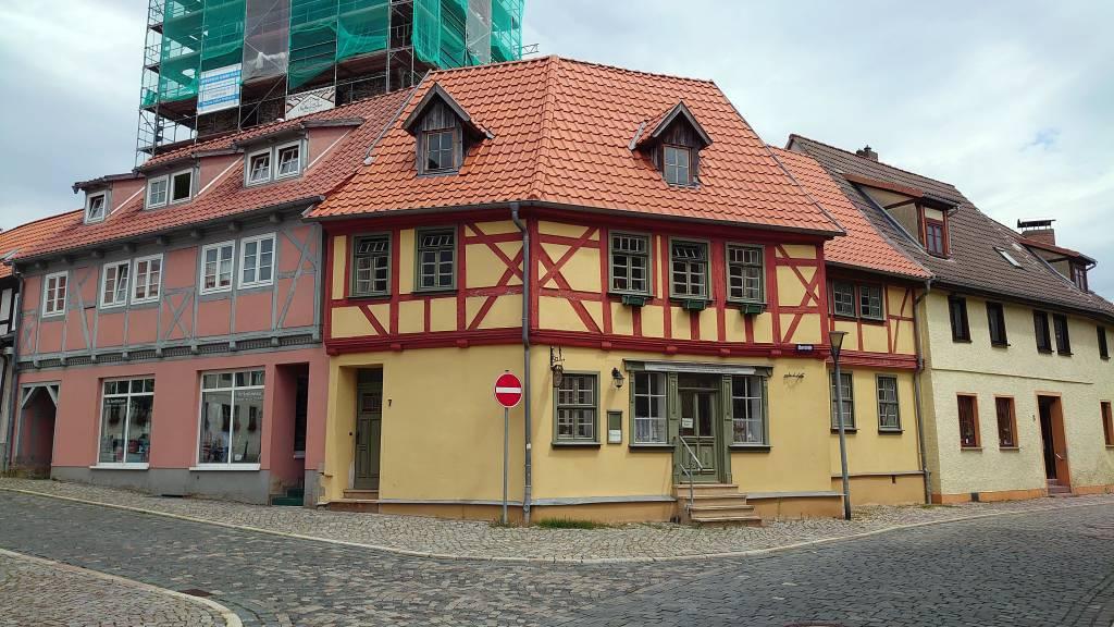 Harzgerode, Fachwerkhaus