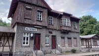 Alexisbad, Bahnhof