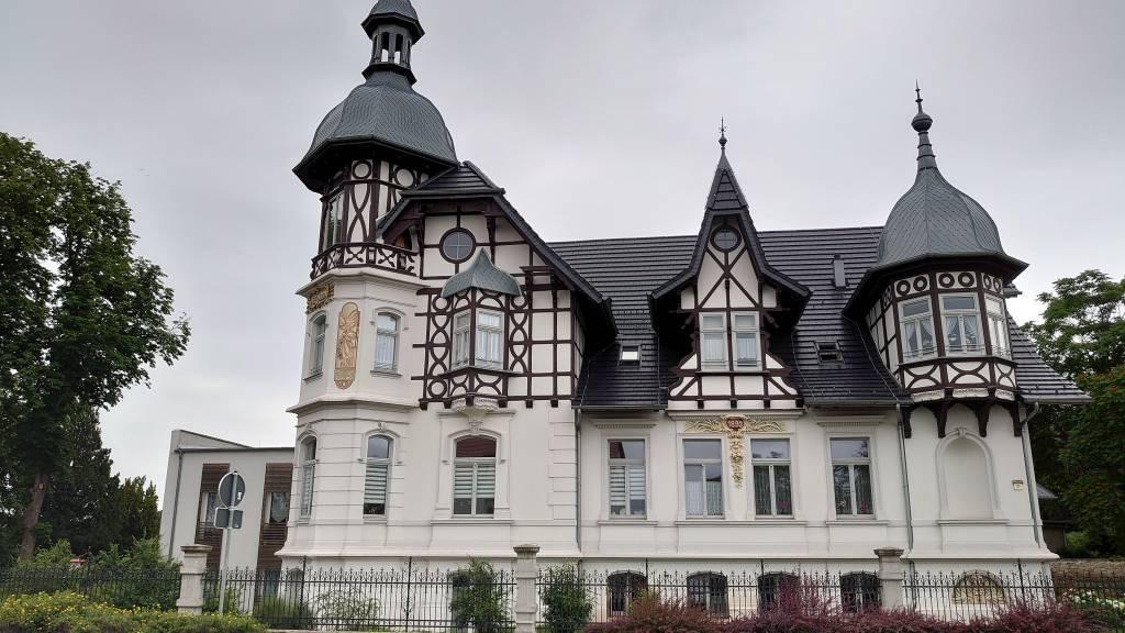 Gernrode, alte Villa