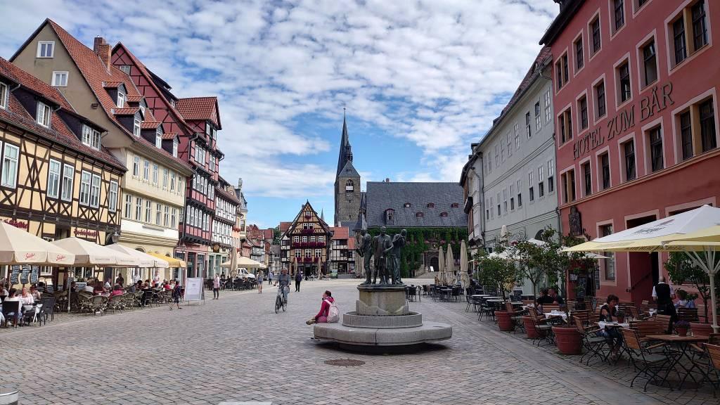 Quedlinburg, Altstadt, Marktplatz