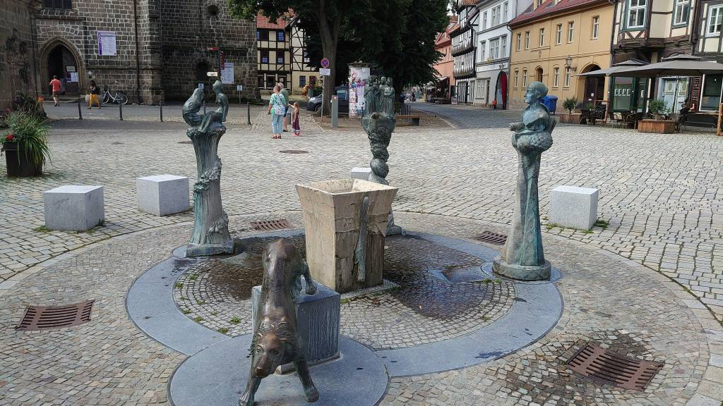 Quedlinburg, Altstadt, Denkmal Persönlichkeiten der Quedlinburger Geschichte