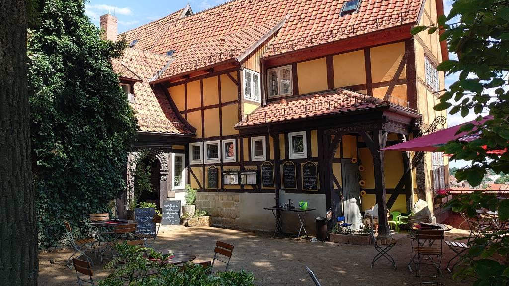Quedlinburg, Altstadt, Gaststätte Schlosskrug am Dom