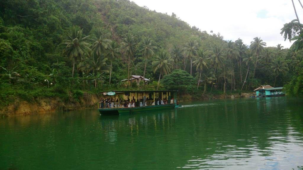 Loboc Fluss, Picknick auf dem Boot, Landschft