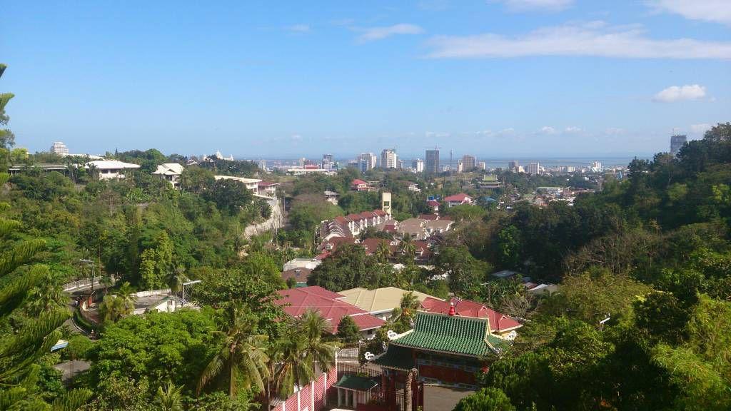 Cebu City, Taoistischer Tempel, Aussicht