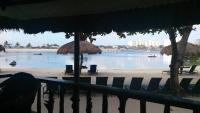 Bluewater Maribago Hotel, Blick von unserer Veranda