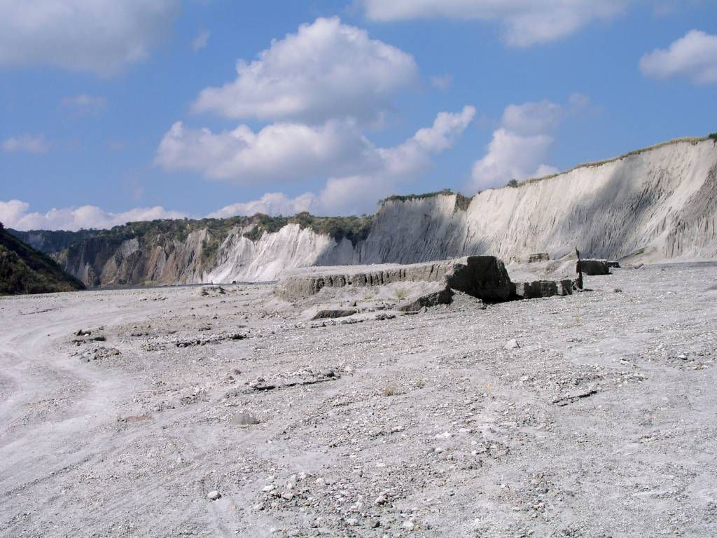 Auf dem Weg zum Mount Pinatubo