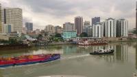 Manila, Intramuros, Blick nach außen