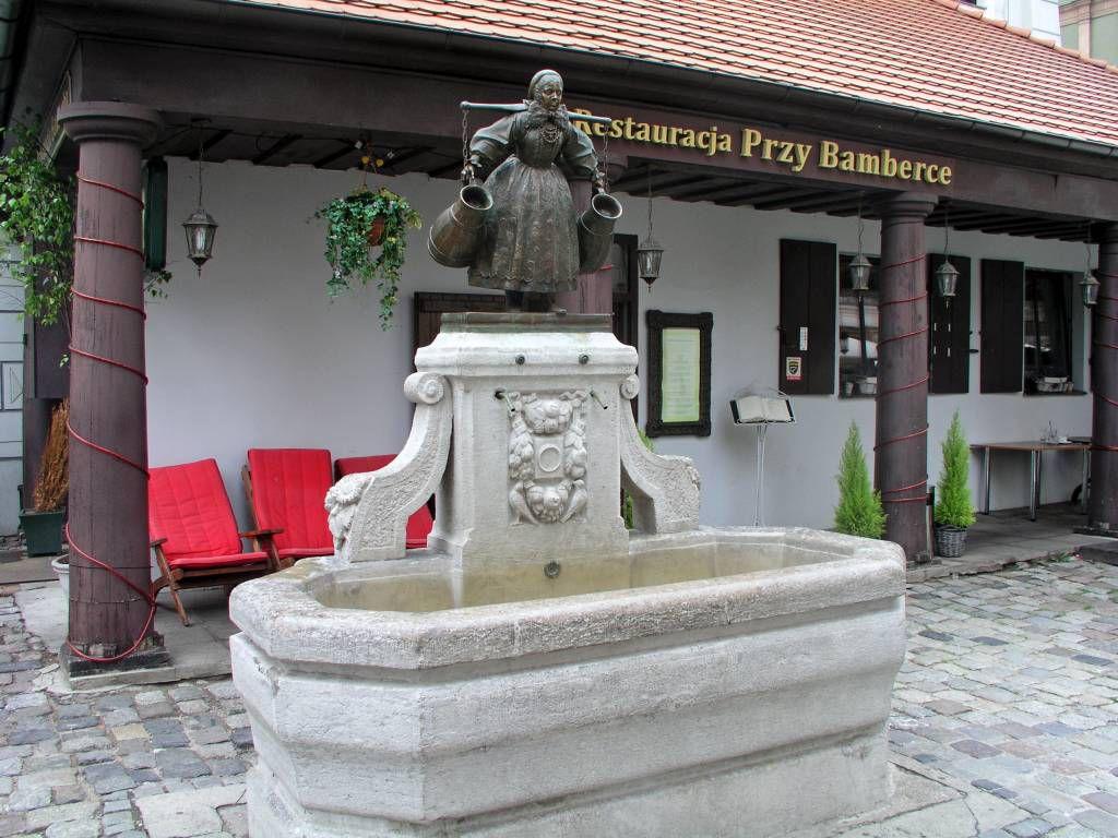 Posen, Poznań, Bamberka Brunnen