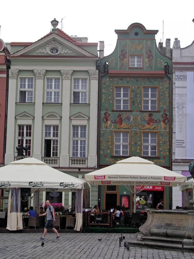 Posen, Poznań, Alter Markt, Gebäude