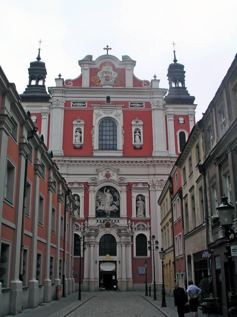 Posen, Poznań, Kirche des heiligen Stanislaus