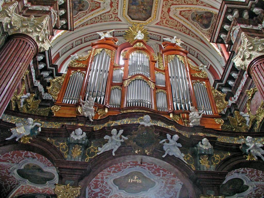 Posen, Poznań, Kirche des heiligen Stanislaus, Orgel