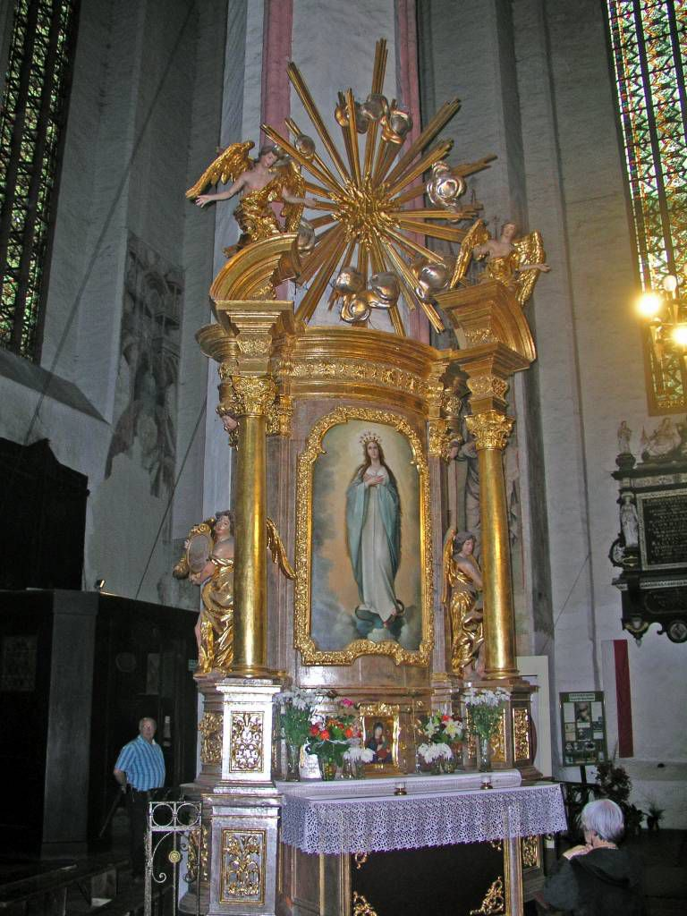 Thorn, Toruń, Marienkirche