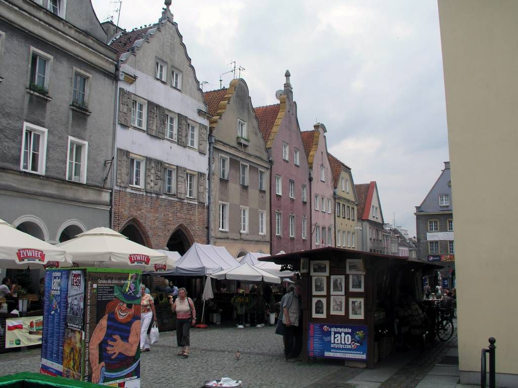 Allenstein, Olsztyn, Marktplatz