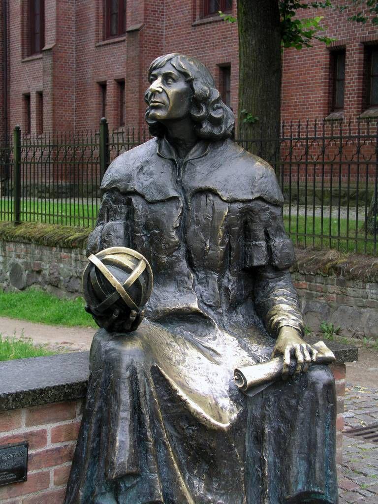 Allenstein, Olsztyn, Denkmal Nikolaus Kopernikus