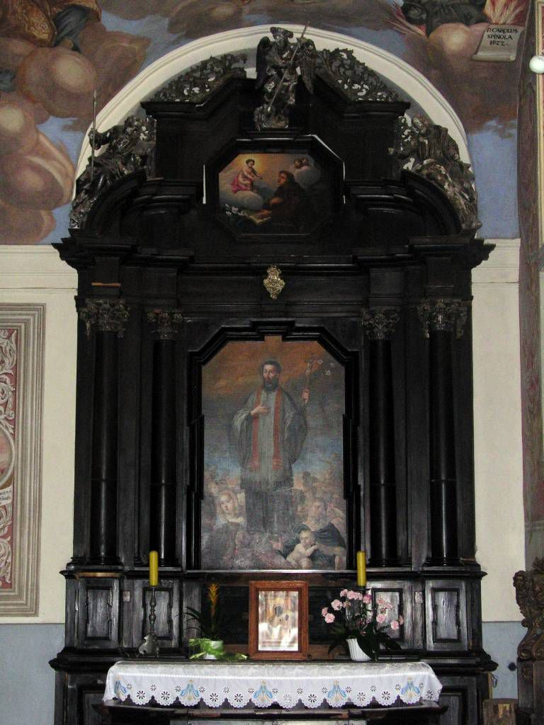 Heilige Linde, Święta Lipka, Basilika, Seitenaltar