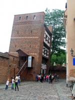 Thorn, Toruń, schiefer Turm