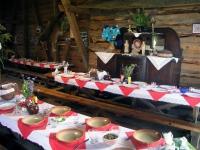 Redigkainen, Redykajny, Folklore (Bauernhochzeit) nahe Allenstein