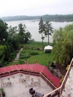 Sensburg, Mrągowo, Hotel To-Tu, Blick auf den Schoss See