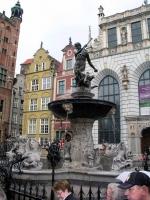 Danzig, Gdańsk, Neptunbrunnen