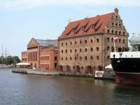Danzig, Gdańsk, ehemalige Speicher an der Mottlau