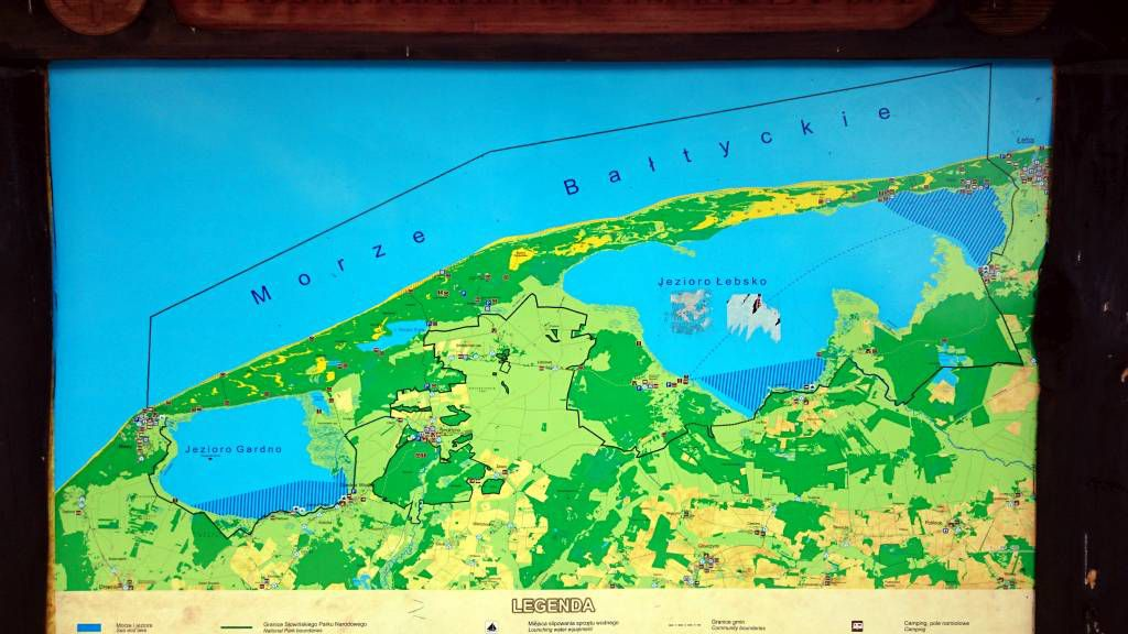 Leba (Łeba), Slowinzischer Nationalpark