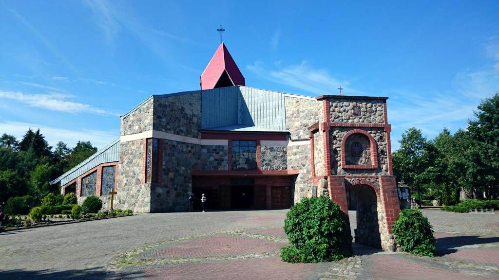 Neustettin / Streitzig (Szczecinek / Trzesieka), Kirche der Hl. Rosalia von Palermo