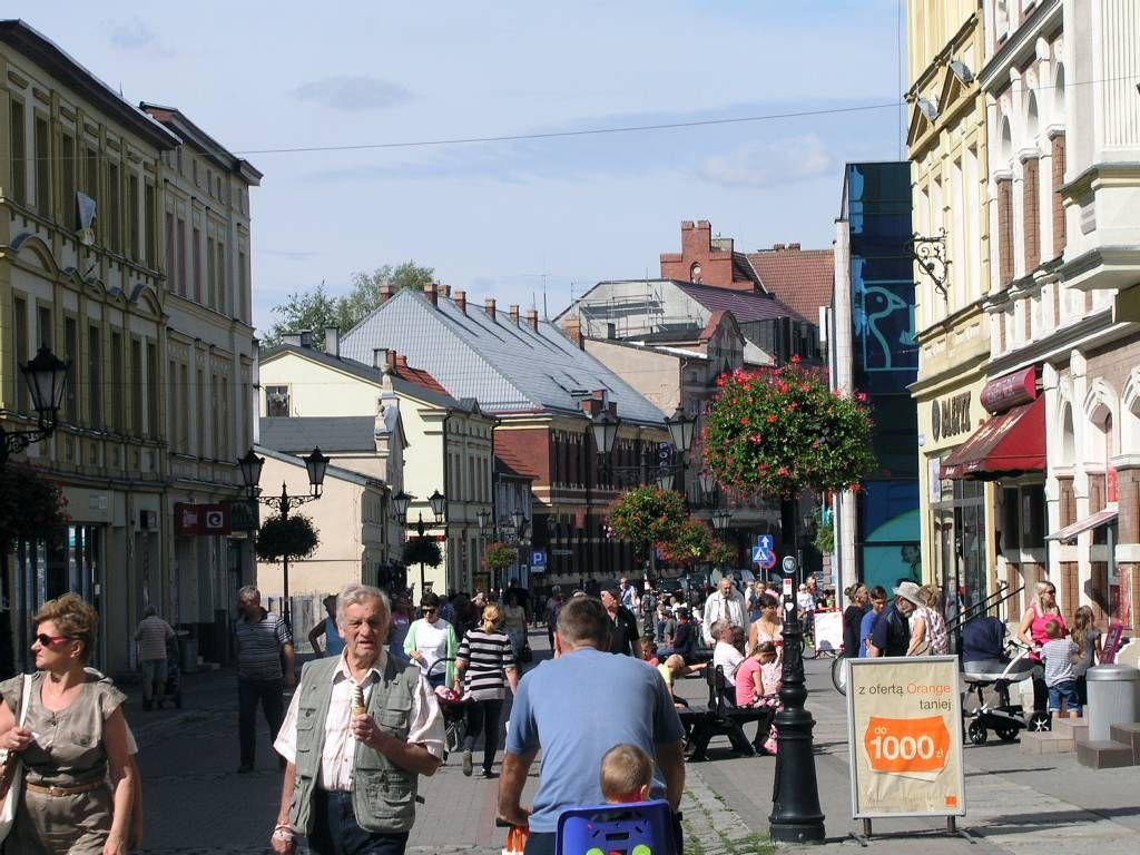 Neustettin (Szczecinek), Hauptstraße