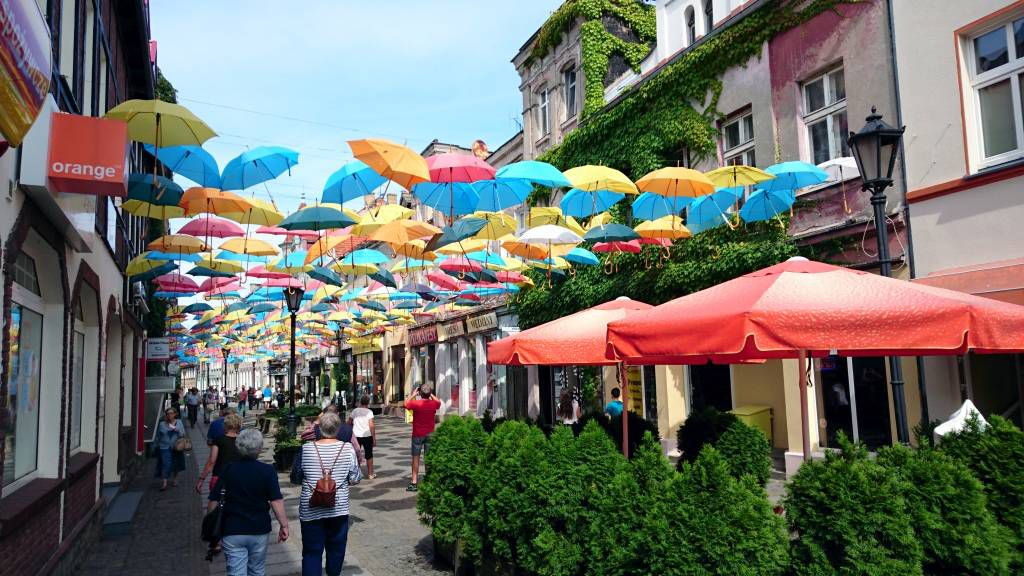 Bad Polzin (Połczyn-Zdrój), Fußgängerzone